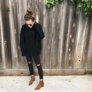 BVO Sweaters - Black Sweater